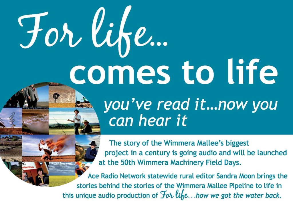 wimmera mallee pipeline project, water project, Wimmera, Mallee, book, CD, history